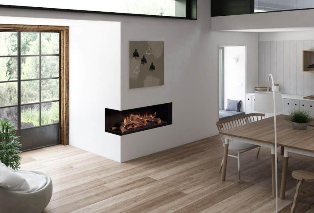 Ortal Wilderness fireplace model Corner 51