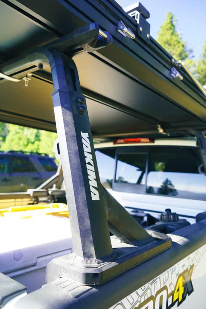 yakima overhaul bed rack system