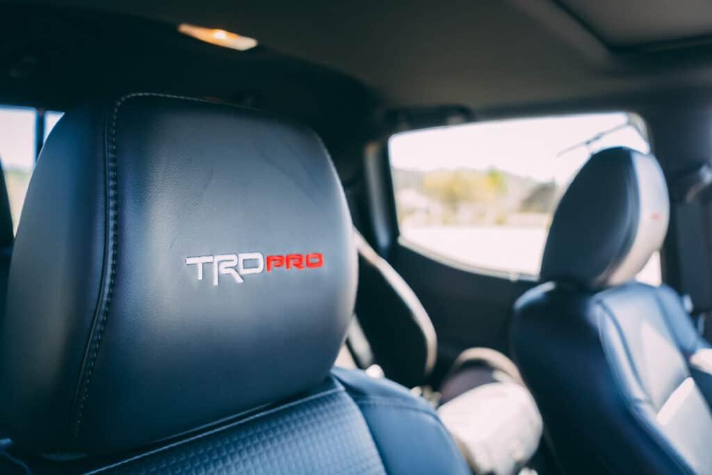 Toyota Tacoma TRD Pro Photos Interior Exterior 11