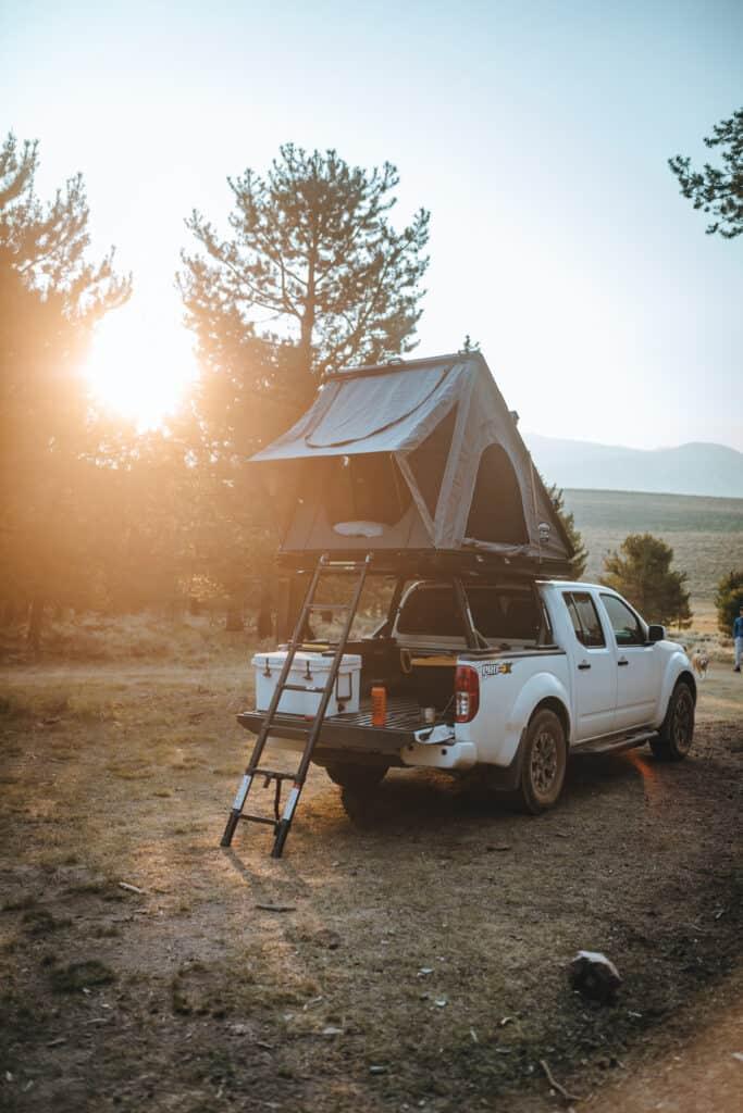 cvt mt hood rooftop tent