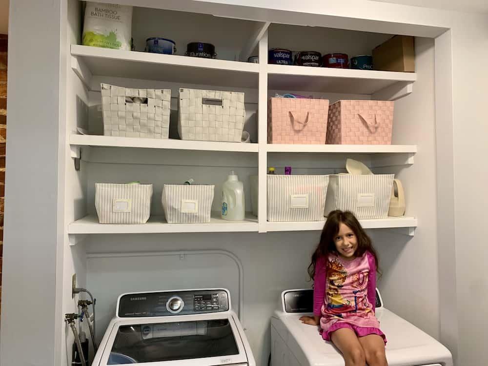 10 Dani on Dryer Hallway storage