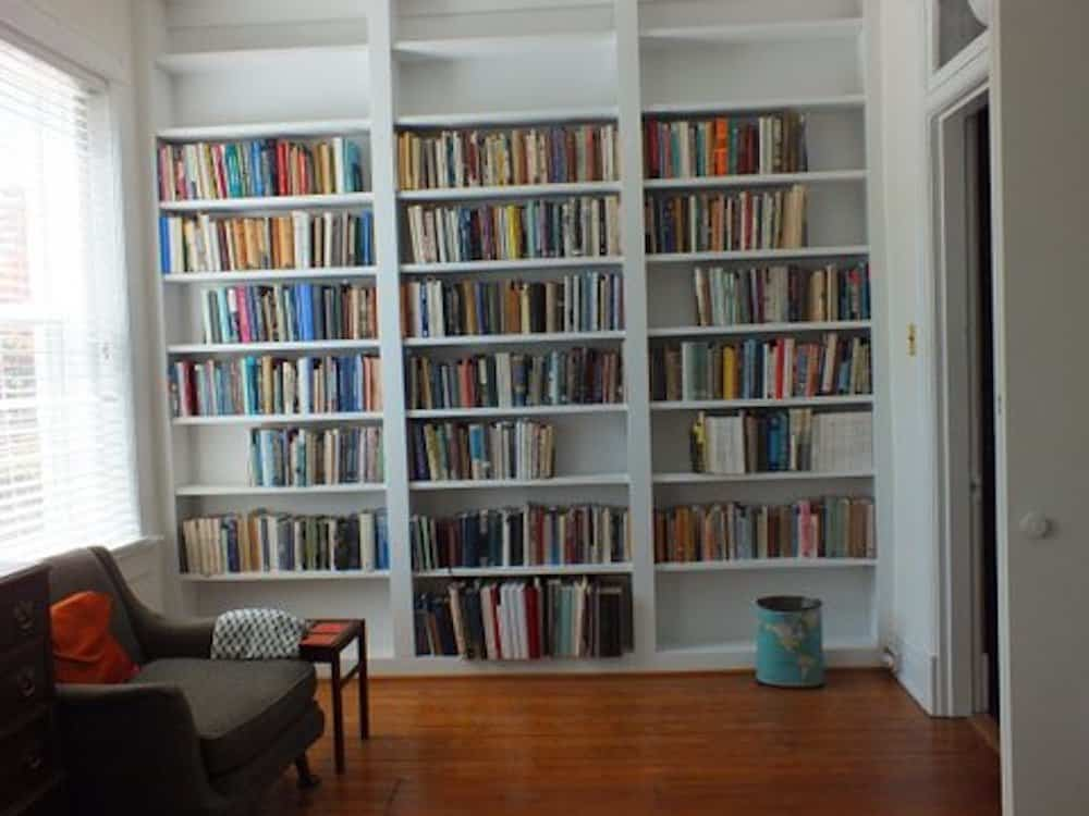 11 Front office bookcase