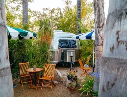 ojai glamping caravan outpost airstream